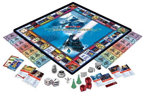 MasterPieces The Polar Express Train-Opoly Board - Train Express Gift