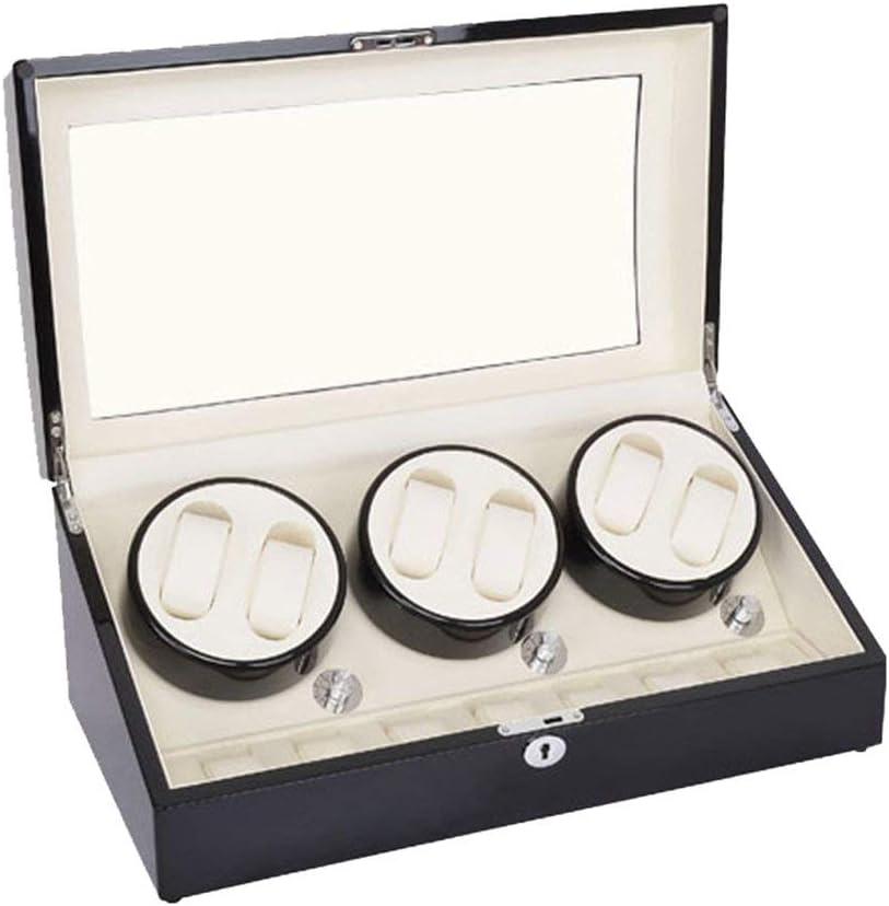 N/B Mira el enrollador Mira Las Cajas del enrollador 6 + 7 Mira Caja de bobinado automático Caja de Reloj mecánico Reloj Giratorio Mira enrollador de Reloj (Color: B) Mira