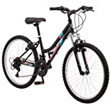 "24"" Roadmaster Granite Peak Girls' Bike, (Black)"