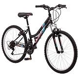 "24"" Roadmaster Granite Peak Girls' Bike, Black"