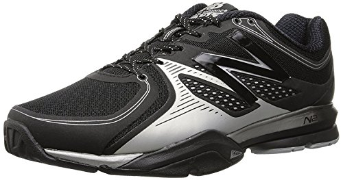 New Balance Mens MX1267 Training Shoe, Negro/Plateado, 40 D(M) EU/6.5 D(M) UK