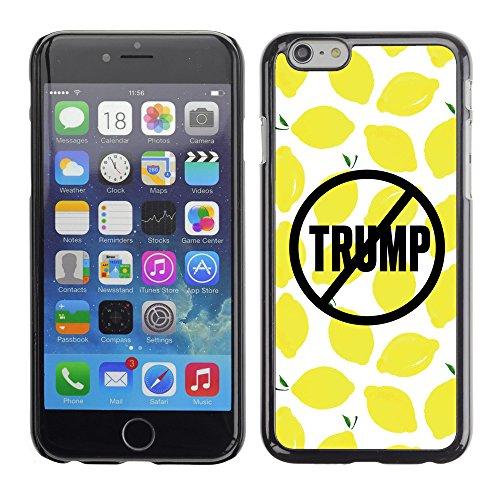Print Motif Coque de protection Case Cover // Q04110523 Jamais trump citron // Apple iPhone 7