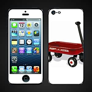 Apple Iphone 5 Vinyl Skin- Old School Wagon Design- ip5wagon