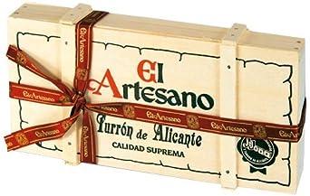 El Artesano Barra Turrón de Jijona, 1 unidad: Amazon.es: Alimentación y bebidas