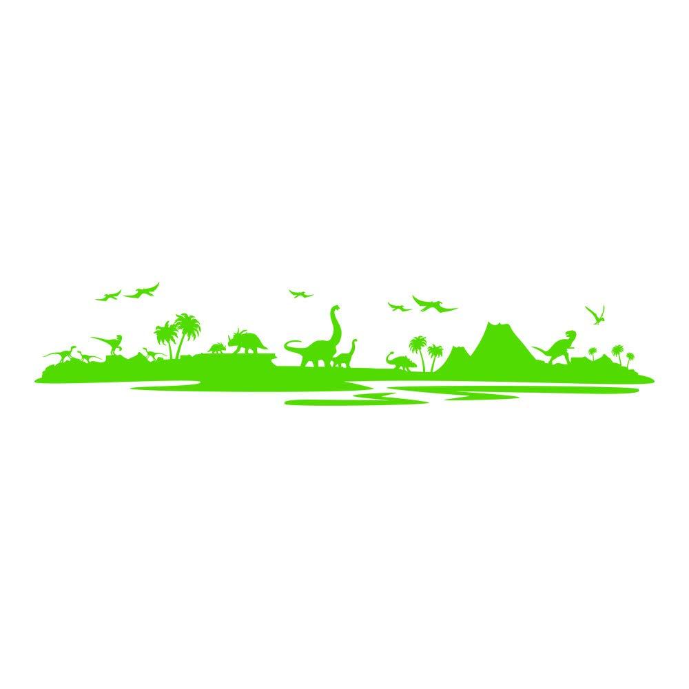Azutura Dinosaurier-Landschaft Wandtattoo Jurassic Park Wand Sticker Kinder Schlafzimmer Haus Haus Haus Dekor verfügbar in 5 Größen und 25 Farben X-Groß Wolke Grau B00DOH9CKK Wandtattoos & Wandbilder 75d437