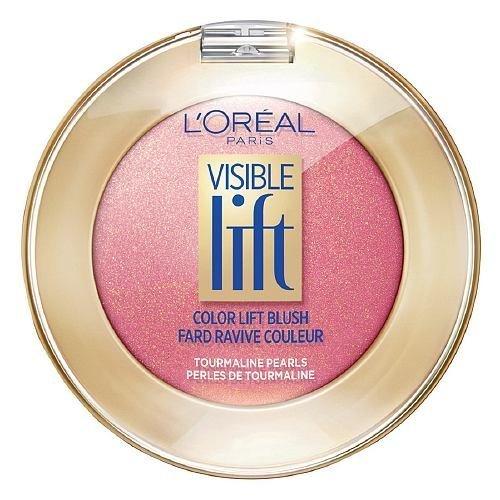 L'Oreal Paris Visible Lift Color Lift Blush, Peach Gold Lift [702] 0.14 oz (Pack of 2)
