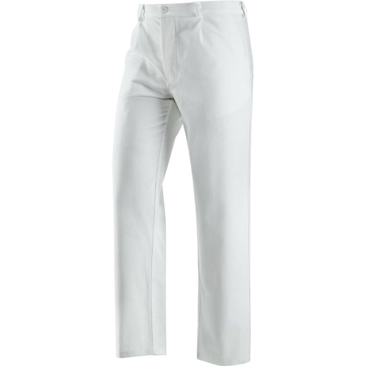 official watch factory authentic Pantalon De Travail Blanche 100% Coton Peintre Plâtrier Plaquiste -  Alimentaire - Blanc, M 42-44