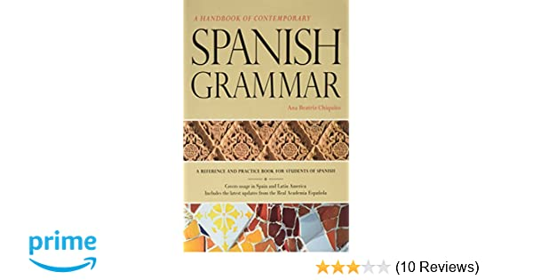 Amazon handbook of contemporary spanish grammar student edition amazon handbook of contemporary spanish grammar student edition w supersite code 9781617671067 vista higher learning books fandeluxe Images