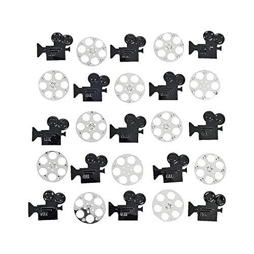 Fun Express - Camera And Film Reel Confetti (2oz) for Party - Party Decor - General Decor - Confetti - Party - 1 Piece ()