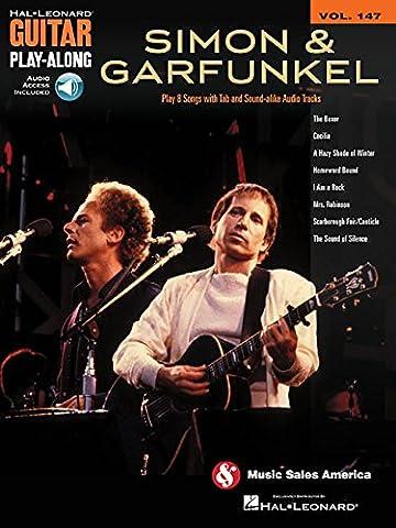 Simon & Garfunkel - Guitar Play-Along Volume 147 (Book & Online Audio) (Simon And Garfunkel Lyrics)