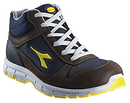 Scarpa Scarpe Diadora Utility da Lavoro Antinfortunistica HI RUN S3-SRC  Colore Dark Brown Dark Smoke Codice 701.158593  Amazon.it  Fai da te 706081c63b2