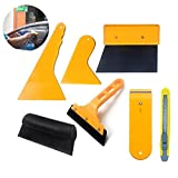 Window Film Tool Kit - Window Tint Installation Kit for Car & Home - DIY Window Film Removal Application Tool Kit