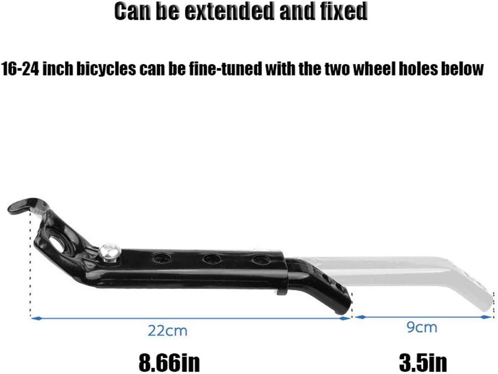 Adecuado para 16 18 20 22 24 Pulgadas Bicicleta,Ni/ño Rueda De Entrenamiento De Bicicleta QWCZY Rueda De Entrenamiento Rueda Trasera Kit De Fijaci/ón del Estabilizador De Bicicleta