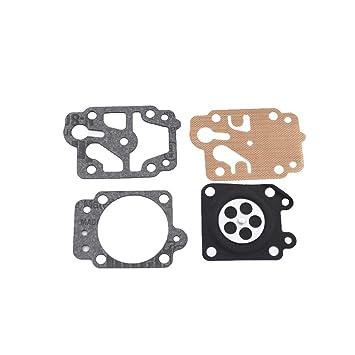 KKmoon Kit de reparación del diafragma del carburador Junta del ...
