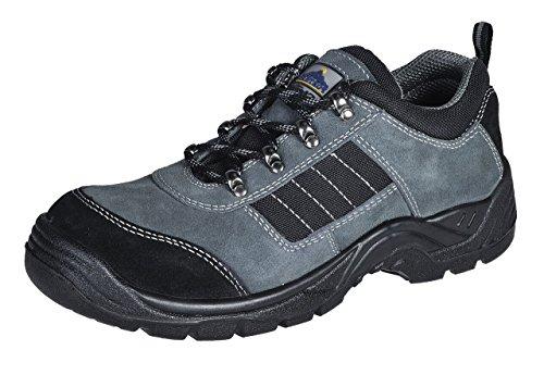 PORTWEST FW64 Steelite™ Trekker Shoe S1P Black FW64BK-R44