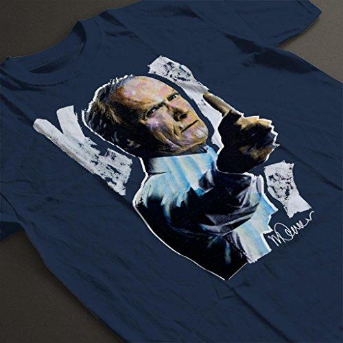 Sidney Blue Original Maurer T Torino shirt Women's Clint Portrait Of Navy Eastwood Gran 77rSF