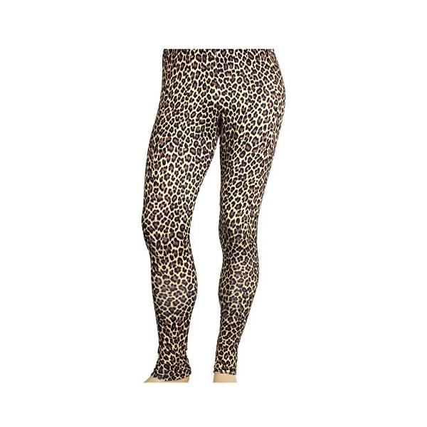Largemouth Men's Heavy Metal Rocker Pants Cheetah Print
