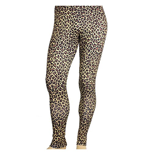 Men's Heavy Metal Pants Cheetah Print