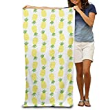 Best Rainbow Towel For Bath Beaches - Wecye Outdoor And Travel Use-Soft And Comfortable PINEAPPLE Review
