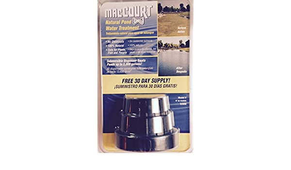 Amazon.com : Maccourt 100% Natural 30-day Pond Water Treatment System (1/pk) : Garden & Outdoor