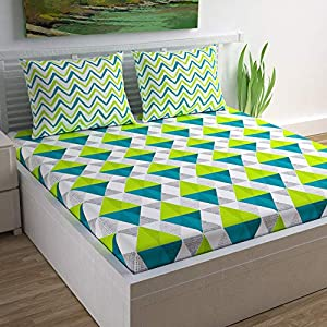 King Size Bedsheet with 2 Pillow Covers