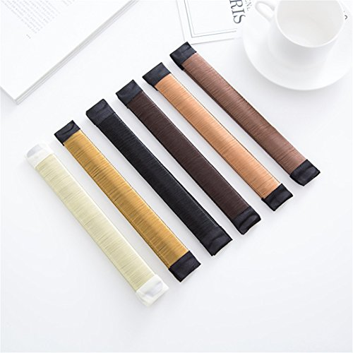 DIY Women Hair Accessory Ladies Foam Hair Band Wrap Styling Tool light brown by HAHUHERT (Image #7)