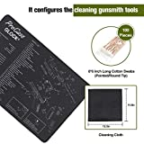 ProCase Gun Cleaning Mat with Cotton Swabs and