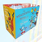 Wonderful World of Dr Seuss Collection 20 Books Box Set (Dr Seuss on the Loose!,Hunches in Bunches,If I Ran The Zoo,The Sneetches and Other Stories,If I Ran The Circus..