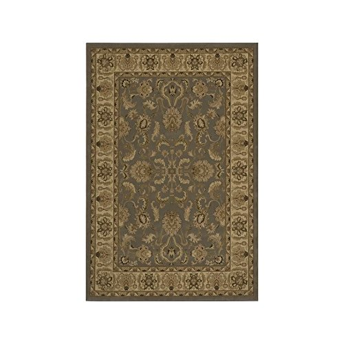Momeni Rugs ROYALRY-04SLT5377 Royal Collection, 1 Million Point Power Loomed Traditional Area Rug, 5'3
