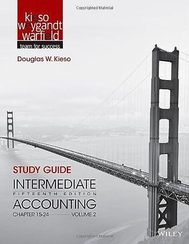 amazon com study guide to accompany intermediate accounting volume rh amazon com study guide to accompany intermediate accounting volume 2 Intermediate Accounting 14th Edition Solutions