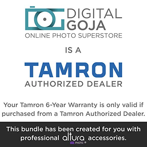 Tamron 18-400mm f/3.5-6.3 Di II VC HLD Lens for Canon DSLR Cameras w/Advanced Photo and Travel Bundle (Tamron 6 Year Limited USA Warranty) by Tamron (Image #1)