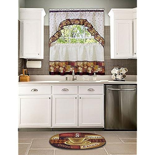 Achim Home Furnishings Braided Rug, 20 Inch By 30 Inch, Coffee