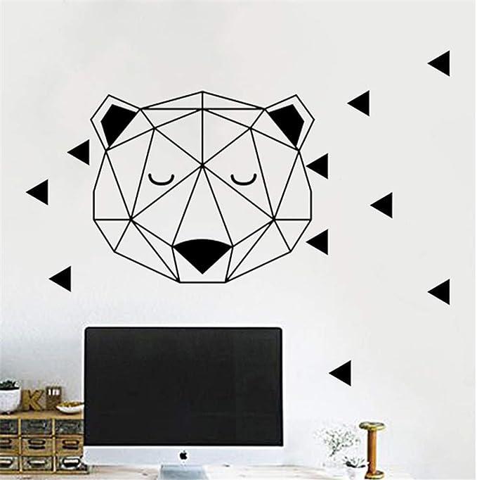 Ajcwhml Artistas decoración del hogar Apliques geométricos ...
