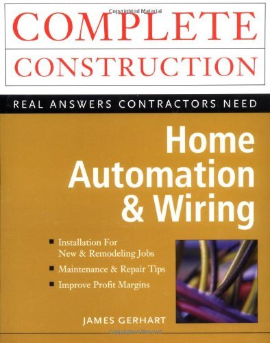 Home Automation And Wiring  English Edition