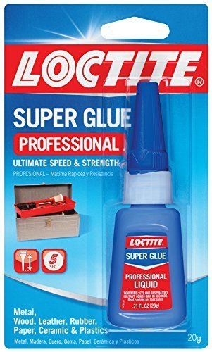 Loctite 1365882 5 Pack 20-Gram Bottle Liquid Professional Super Glue