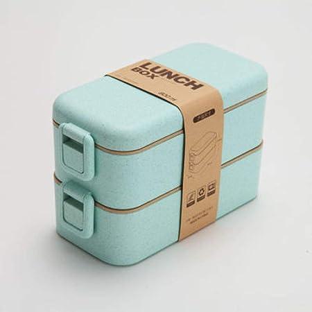 800ml Caja de almuerzo de material saludable Capas de Bento de ...