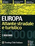 Europa. Atlante stradale e turistico 1:900.000