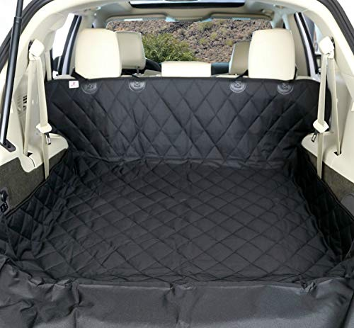 4Knines SUV Cargo Liner for Dogs - Black Extra Large - USA Based Company - Gray Small Cargo Liner