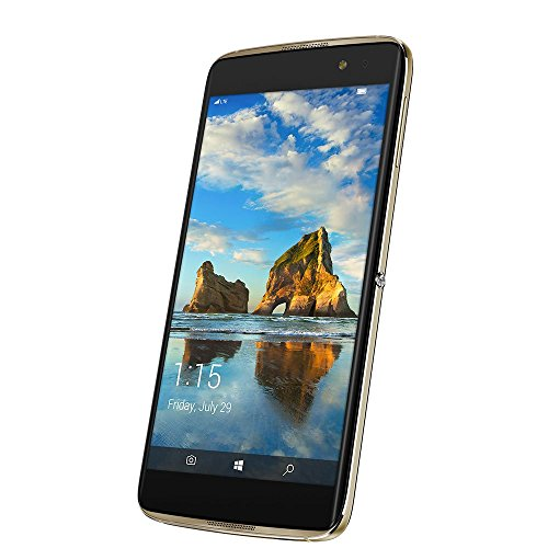Alcatel IDOL 4S 6071W - 64GB- Gold (T-Mobile) 4G LTE Windows 10 Smartphone (Certified Refurbished)
