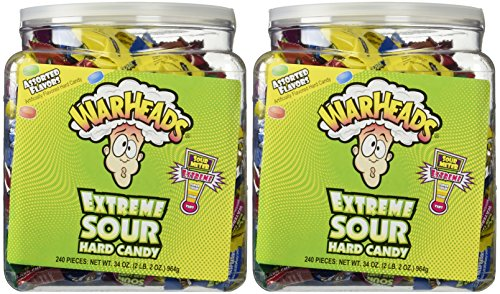 Warheads Extreme Sour Hard Candy (Pack of - Hard Candy Sour Warheads
