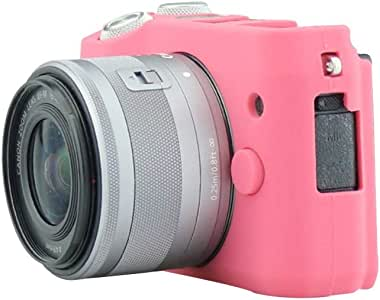 Color : Pink HDHUA Case for Canon EOS M6 Silicone Camera Case Durable Soft Anti-Slip Camera Case Modification Accessories