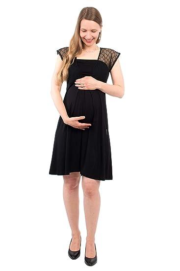Viva La Mama Elegantes Umstandskleid Stillkleid Mit Rückenausschnitt Juliette