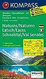 Naturns - Latsch - Schnalstal / Naturno - Laces - Val Senales 1 : 25 000: Wanderkarte mit Kurzführer, Radrouten und alpinen Skirouten. GPS-genau