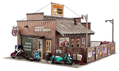 Woodland Scenics BR5845 O Scale Deuce's Bike Shop  Kit