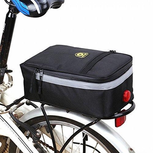 Huayang Bike Pinner Bag, MTB Mountain Cycling Bike Bicycle Saddle Rear Tail Seat Carrier Bag Waterproof Water Bottle…