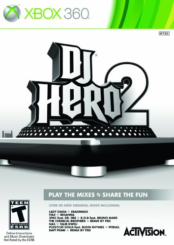 Dj Hero 2 Software - Xbox 360 (Stand-Alone Software)