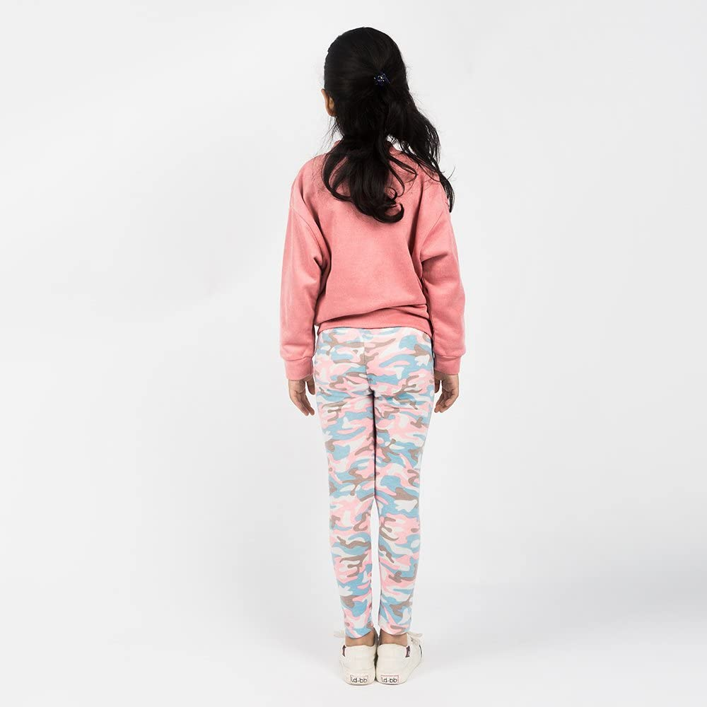Hainuoer Ti1721 Girls Cotton Clothing Spring /& Autumn Jacket Warm and Soft Sweatshirt Pink