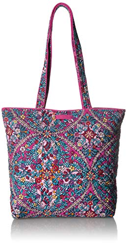 Vera Bradley Iconic Tote Bag, Signature Cotton, Kaleidoscope