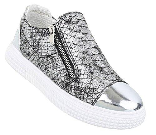 ba25aea030 Damen Sneakers Muster | Plateau Sneaker Low | Schnürschuhe Stern |  Turnschuhe modern | Sportschuhe Freizeit