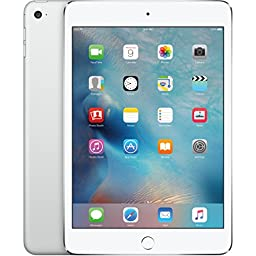 Apple iPad mini 4 64GB (Wi-Fi) 7.9-Inch iOS Tablet - Silver (Certified Refurbished)